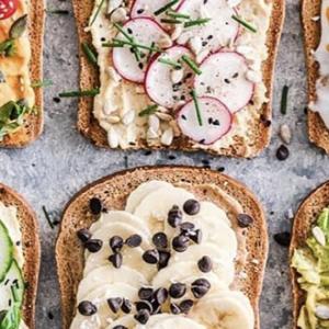 Рецепты тостов с урбечами