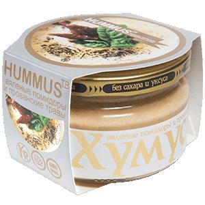 Хумус с вялеными помидорами и прованскими травами (200 г)