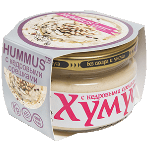 LEMMA.CENTER - Хумус с кедровыми орешками (200 г)