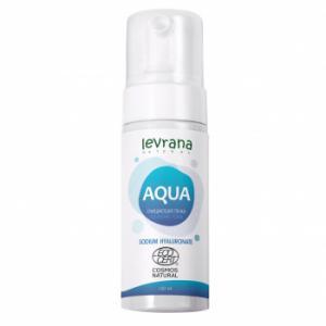 Очищающая пенка для умывания AQUA с гиалуроновой кислотой, Levrana (150 мл)